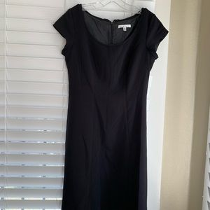 CAbi A-Lined Black Dress